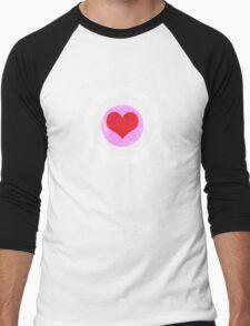 Robert Downey Jr. Heart Men's Baseball ¾ T-Shirt