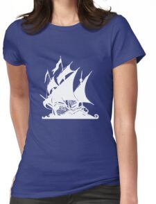 Pirates Ship Womens Fitted T-Shirt
