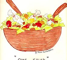 """""""Chef Salad""""  by anneseyeview"""