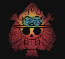 spade pirates symbol One Piece - Short Sleeve