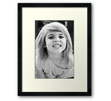 "Just say ""CHEESE!"" Framed Print"