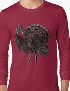 Big Thanksgiving Turkey Long Sleeve T-Shirt