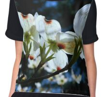Dogwood in the Spring        ^ Chiffon Top