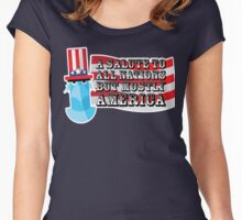 July 4th Women's Fitted Scoop T-Shirt