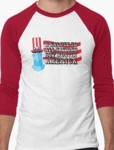 July 4th Men's Baseball ¾ T-Shirt