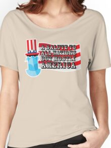 July 4th Women's Relaxed Fit T-Shirt