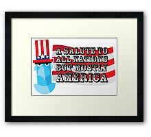 July 4th Framed Print