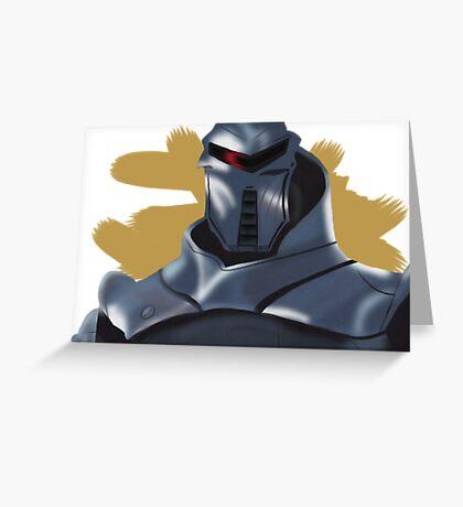 Cylon Greeting Card
