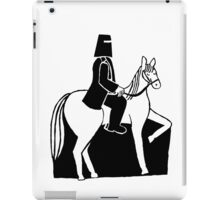 Ned Kelly Riding His Horse iPad Case/Skin