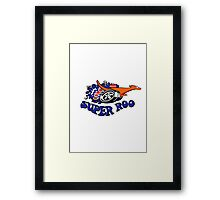 Ford Falcon XW Super Roo Design Framed Print