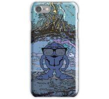 Alien brain monster  iPhone Case/Skin