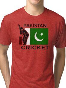 Pakistan Cricket Tri-blend T-Shirt
