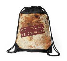 NOT OLD, VETERAN Drawstring Bag