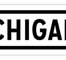 Michigan Lite Sticker