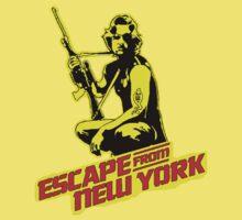 Snake Plissken (Escape from New York) Colour Kids Tee