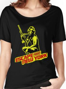 Snake Plissken (Escape from New York) Colour Women's Relaxed Fit T-Shirt