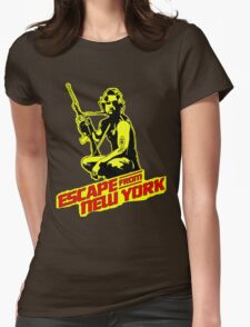 Snake Plissken (Escape from New York) Colour Womens Fitted T-Shirt