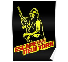 Snake Plissken (Escape from New York) Colour Poster
