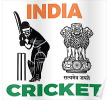 India Cricket Poster