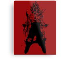 Saiyan Power up Metal Print