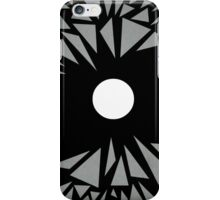 Balanced Black White and Gray iPhone Case/Skin