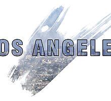 Los Angeles Grunge Logo by retrosauce