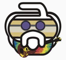 Hurry Garcia (Jerry) Curling Rockers Kids Tee