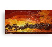 Picture 2015062 Justin Beck Warm Sunset Canvas Print