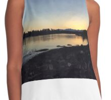West Coast Sunset Contrast Tank