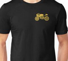 Retro Cafe Racer Bike - Yellow Unisex T-Shirt