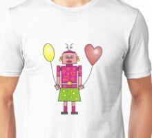 Roboter Lady Unisex T-Shirt