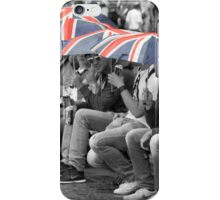 Great Britain In The Rain iPhone Case/Skin