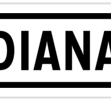 Indiana Lite Sticker