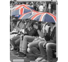Great Britain In The Rain iPad Case/Skin