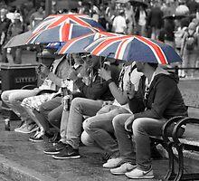 Great Britain In The Rain by Graham Ettridge
