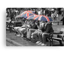 Great Britain In The Rain Canvas Print