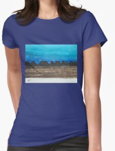 Long Dusk original painting Womens Fitted T-Shirt