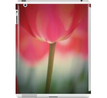 In a garden of tulips iPad Case/Skin