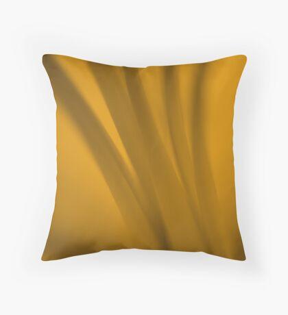 Warm Sepia Stems Throw Pillow