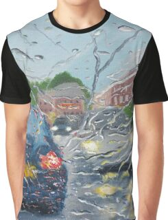 Rainy Day In Bolton Graphic T-Shirt