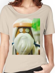 The Blind Sage Vitruvius, can always be your voice of reason Women's Relaxed Fit T-Shirt