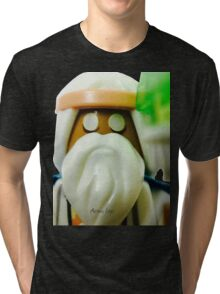 The Blind Sage Vitruvius, can always be your voice of reason Tri-blend T-Shirt