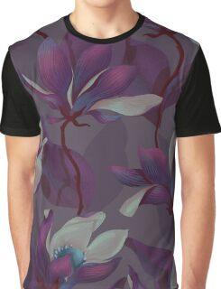Magnolia Bloom - Midnight Graphic T-Shirt