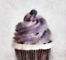 Blueberry Cupcake  by Anita Murphy