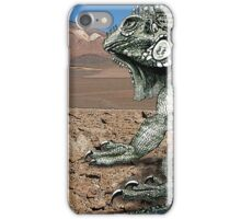 Desert Iguana Justin Beck Picture 2015096 iPhone Case/Skin