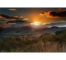 The Last Ray of Sun Photographic Print