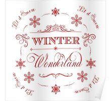 Winter Wonderland - Let it Snow! Poster