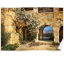 Comino Hospital in Ruins Poster