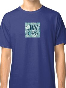 JW.org (white and blue flowers) Classic T-Shirt