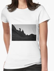 Arches NP XVI BW  Womens Fitted T-Shirt